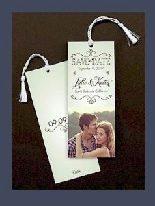 Save the Date Book Mark