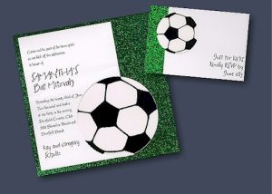 For Kicks Bat Mitzvah Invitation