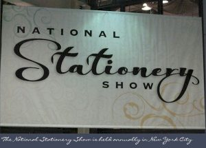 National Stationery Show Banner