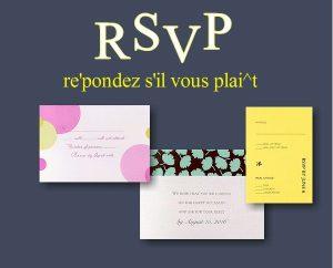 RSVP Samples